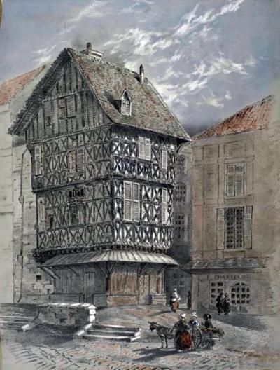 Maison de l'Armurier à Bordeaux