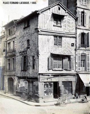 vieille maison place Fernand Lafargue