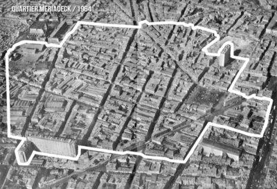 Quartier Méraideck en 1964