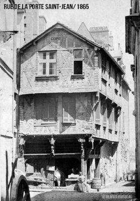 maison rue de la Porte Saint-Jean
