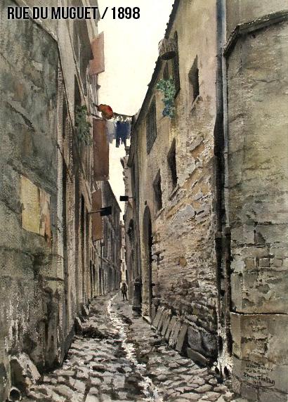 """Animation """"avant/après"""" – rue du Muguet à Bordeaux"""