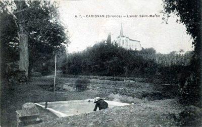 (3D) Lavoir Saint-Martin à Carignan-de-Bordeaux