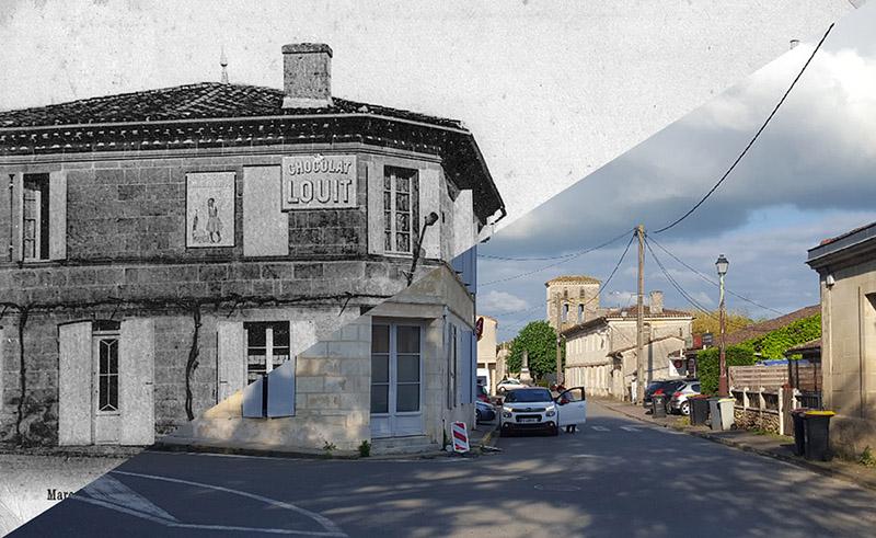 """Animation """"avant/après"""" – bourg de Latresne"""